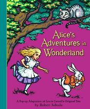 ALICE'S ADVENTURES IN WONDERLAND ~ POP-UP BOOK ~ ADAPTATION ROBERT SABUDA