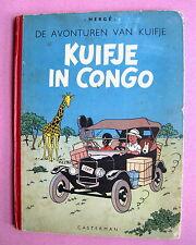 KUIFJE HERGE KUIFJE IN CONGO CASTERMAN A46 1947 EO BON ETAT D'USAGE