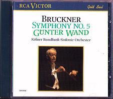 Günter WAND: BRUCKNER Symphony No.5 WDR Köln CD RCA Gunter Sinfonie Original