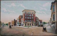 1910 Postcard - Cotton Avenue South - Macon, Georgia GA