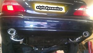 LEXUS GS430 STAINLESS STEEL EXHAUST SYSTEM-FULLY FITTED,LIFETIME WARRANTY