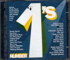 Number 1'S - Queen/Pink Floyd/Vasco Rossi/David Bowie/Jovanotti 2X Cd Ottimo