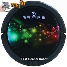 Smartphone WiFi App Control Dry Wet Cleaning Sweeping Vaccum Dust Cleaner Robot