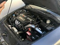 "Red For 2.75/"" 2004-2007 Honda Accord 2.4L L4 Sulev DX LX EX SE Air Intake"