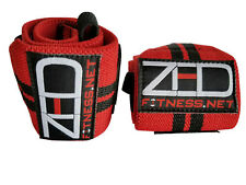 "LEVEL 3 WRIST WRAPS 16"" FOR CHAMPIONSHIP LEVEL HEAVY PULL & POWER/WEIGHTLIFTING"