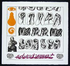 """Concetto POZZATI - """"Advertisment"""", 1972 - Acquaforte, 43 x 43 cm"""