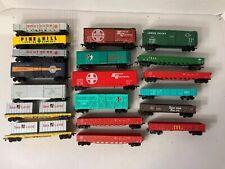 TA756- Mixed Lot Of HO Scale Bachmann Train Cars