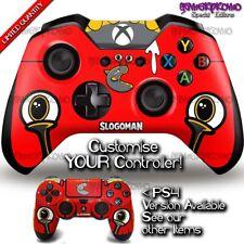 Slogoman Decal - Xbox One Controller Skin - Minecraft GTA5 - Slogo Youtuber