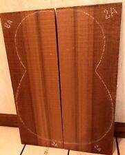 W Red Cedar Tonewood Guitar Top Set Qtr Sawn Book Matched Guitar Making Timber