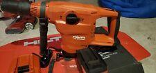 Hilti Te 60 A36 Heavy Duty Concrete Drilling Cordless Rotary Hammer