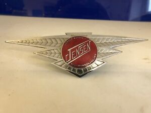 Original Jensen CV8 Bonnet  Badge