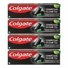 Colgate Charcoal Clean Bamboo Charcoal and Mint for Clean Mouth 120g Pack of  4