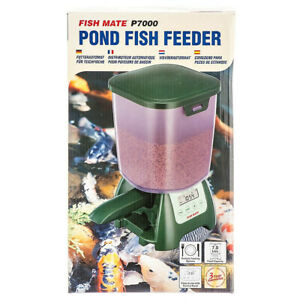 Fish Mate P7000 Pond Fish auto Feeder