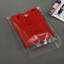 Garment Clear Bags Polythene Self Adhesive Packaging Sleeves Clothing T-Shirts