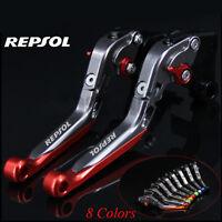 Folding Extending Brake Clutch Levers For Honda CBR250R CBR300R/CB300F/FA GROM