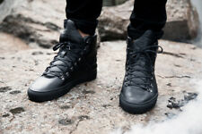 Filling Pieces Black Hightop Trainers Sneakers