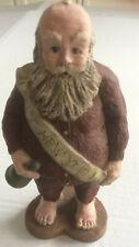 Sarahs Attic New Year Santa Resin Collectible Figurine 1988 #A1364