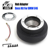 6 Hole Steering Wheel Hub Boss Adapter Kit Part For BMW E46 Mini Cooper 3 Series