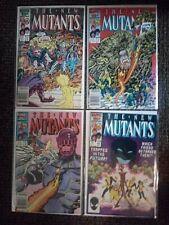 New Mutants #46,47,48,49