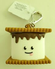 New BATH & BODY WORKS Smores S'mores Marshmallow Keychain Holder Clip