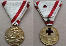 Medaglia croce rossa classe oro 1912  Montenegro  Royal Red Cross War Serbia WW1