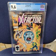 X-Factor 6 CGC 9.6!!! 1st appearance of Apocalypse!!! Marvel Comics 1986!!!