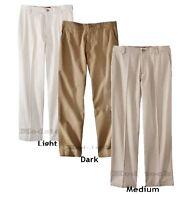 34K12 Choice of Color Mens Merona Ultimate Khaki Dress Chino Pants NWOT