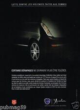 Publicité advertising 2010 Lancia Ypsilon  pour l'Armée du Salut