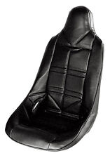 JAZ PRO STOCK POLY HIGH BACK REPLACMENT VINYL SEAT COVER BLACK P/N#150-101-01