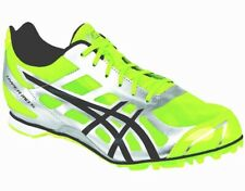 ASICS MENS 10 HYPER MD 5 ($150 RETAIL) TRACK/XC SPIKE YELLOW/SILVER/BLACK