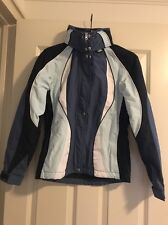Womens Tommy Jeans Tommy ski team jacket, Light Blue And Black, size small