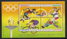 Hong Kong  1992  Sc #628e  Olympic  s/s  MNH  (2-1595)