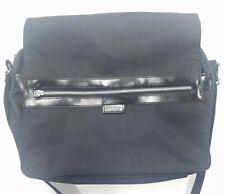 United Colors Of Benetton Black Shoulder Messenger Bag Black Nylon Chromebook