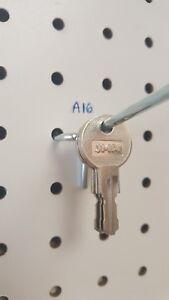 A16 Key. 2 NEW KEYS FOR HUSKY TOOL BOX, Home Depot, Licensed locksmith. A16 Code