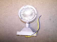 6 volt security light plate grey romote lighting head with mounting