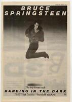 Bruce Springsteen UK 45' advert 1984