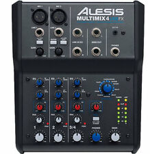 ALESIS MULTIMIX 4 USB FX - MIXER 4 CANALI CON EFFETTI