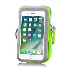 Handy Sport Armband Tasche grün Fitness Schutzhülle Joggen Universal groß Case