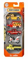 Matchbox 5-Pack Fire Rescue Trucks 5 Pack