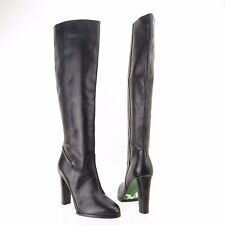 Signature Donald J Pliner Tata Womens Black Leather Knee High Boots Sz 9.5 M NEW