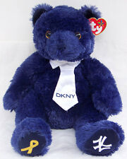 NWT TY Beanie Buddies HOPE limited edition YANKEES exclusive  BEAR by DKNY