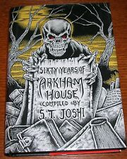 SIXTY YEARS OF ARKHAM HOUSE JOSHI LOVECRAFT ARKHAM HOUSE CTHULHU