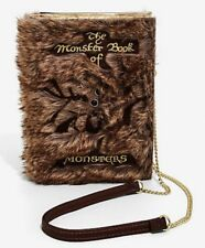 Harry Potter Danielle Nicole Monster Book Of Monsters Crossbody Clutch Purse NWT
