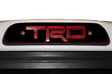 """Vinyl Decal 3rd Brake Light Wrap Kit for 1995-04 Toyota Tacoma """"TRD"""" Matte Black"""