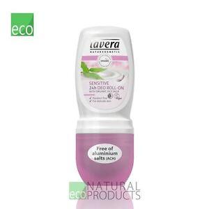 Lavera Organic 24H Deodorant Roll-On with Rice Milk Sensitive 50ml