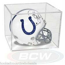 1 Ballqube Football Mini Helmet Storage Holder Cube Display Case UV SAFE