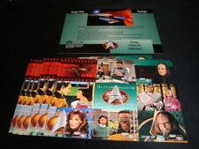 1995 Skybox STAR TREK Season 3 Next Generation 9 Card Promo Sheet LOT of 8  READ