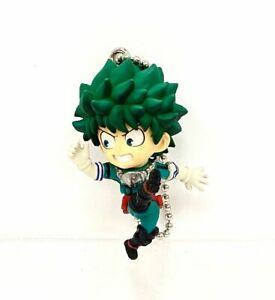 My Hero Academia Swing Mascot PVC Keychain Charm Figure Deku Izuku Midoriya@1468