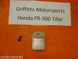HONDA FR500 FR700 FR 500 700 TILLER ROTOTILLER BAR TRIM COVER HANDLEBAR CAP