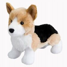 "Douglas Shorty Corgi Plush Dog Stuffed Animal Toy 8"" Tri Color Child Cuddle New"